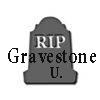 Gravestone U