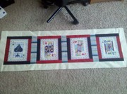 Card Table Topper