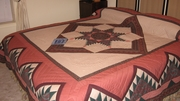 Majestic Mountains quilt in Guest Room