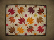 Autumn Leaves Doll Quilt