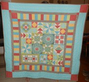 Summer Days - Perfect Points Quilt Along - 2012