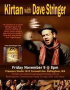 Kirtan with Dave Stringer: November 9th