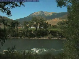 One Year of the Yellowstone River Webcam