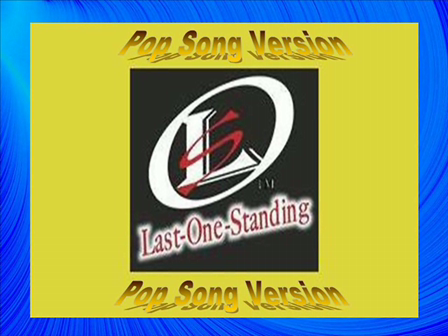 Walking On Sunshine - Last One Standing Game