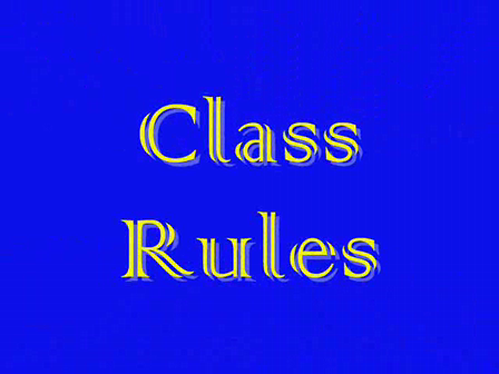 Guess the Class rules