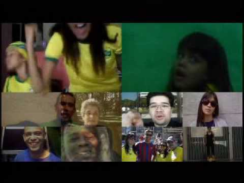 Vídeo dos Torcedores | Voo TAM da Seleção