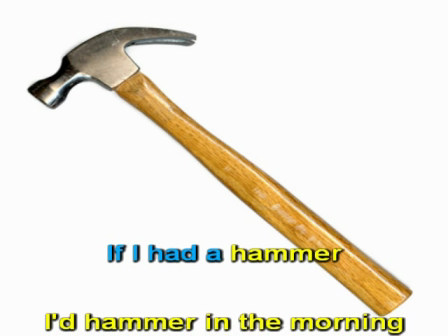 If i had a hammer pete seeger