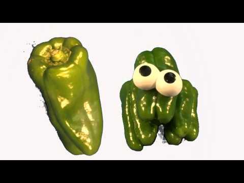 Vegetables - Talking Flashcards