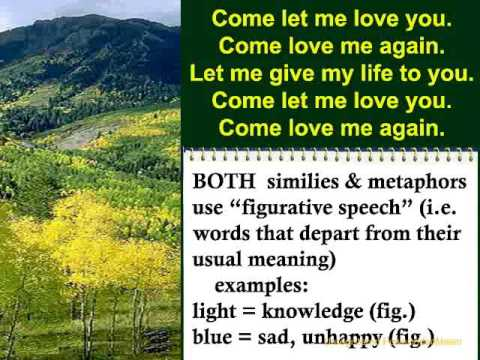 Learn English Through Songs: Similes And Metaphors