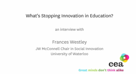 Why innovation is rare in education