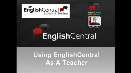 EnglishCentral For Teachers