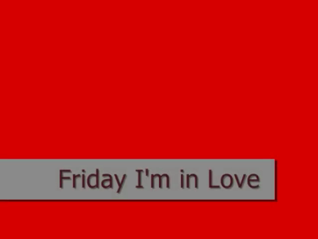 Friday I'm In Love (doodle)