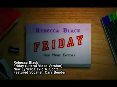 Friday - Literal  Version