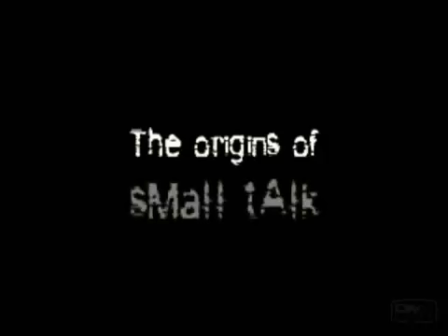 The Origins Of Small Talk