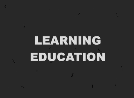 Learning Education