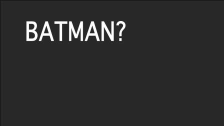 Batman Monologue