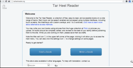 Using The Tarheel Reader