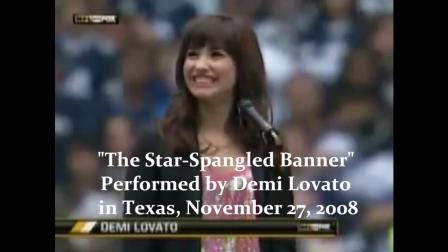 Star-Spangled Banner - Demi Lovato