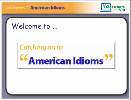 Voa Idioms