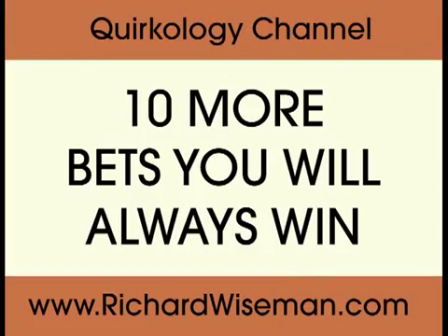 10 bets you'll win
