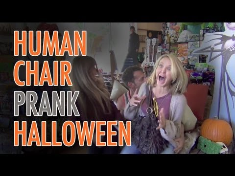 Halloween Chair Scare