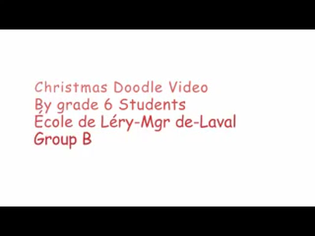 Christmas Doodle Video