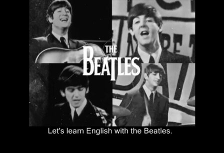 Learn English with the Beatles