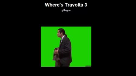 Where's John Travolta