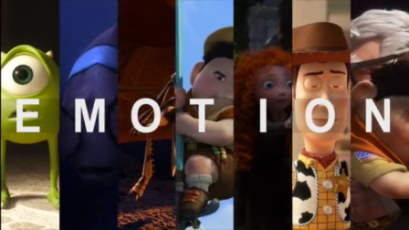 Emotions Of Pixar