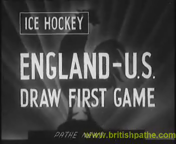 1950s - Ice Hockey at the Arena