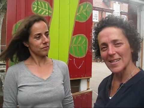 Interview with Clare and Lucy at South Harringay Infants School Garden