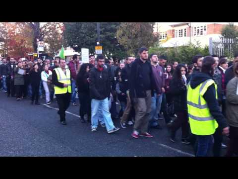 Kurdish Protest March along Green Lanes in Harringay