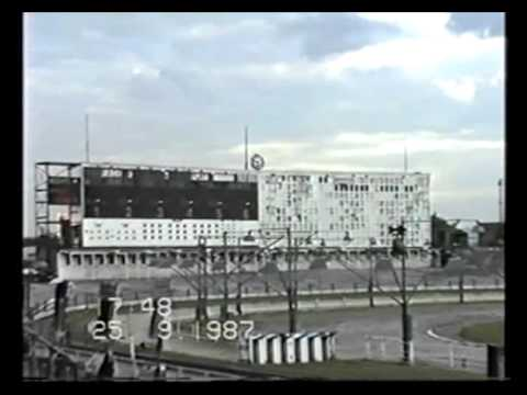 Harringay Greyhound Stadium Track- Last Night 25th September 1987