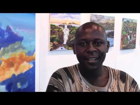 Artist Abdul Mohammed in Harringay