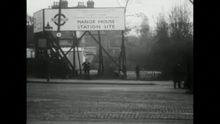 Building Manor House & Turnpike Lane Stations, 1930