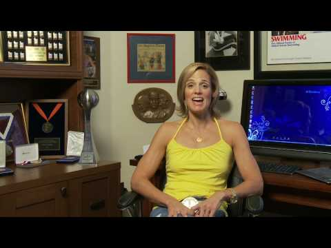 Dara Torres simplifies her life with her HP Mini 110