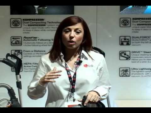 CES 2012 LG Vacuum Cleaner