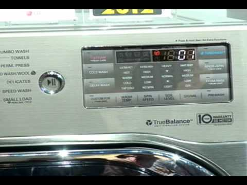 CES 2012 LG Washing Machine
