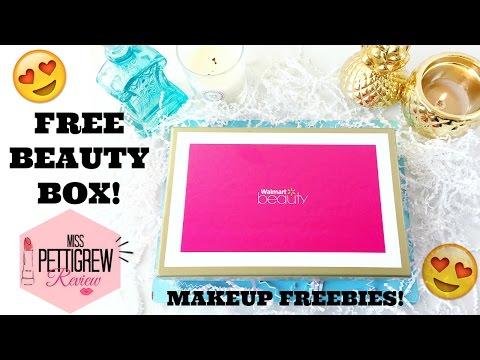 FREE Beauty Box??!! Walmart Beauty Box | Unboxing!