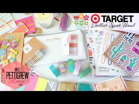 The Cutest Spring Planner Haul! ♡ Target Dollar Spot ♡ (March 2017)