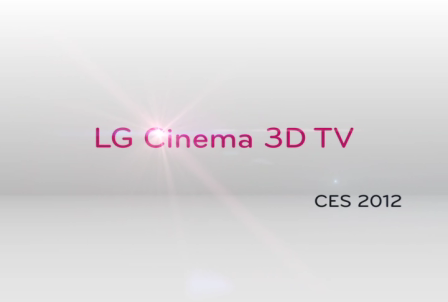 Cinema 3D TV