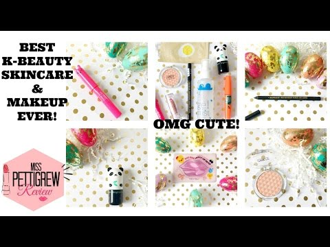 ♡ Top KBeauty Skincare & Makeup Products ♡  || Asian Beauty Haul + Best TonyMoly Beauty!