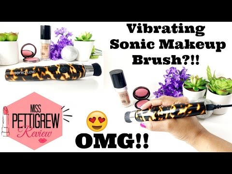 World's First (Antimicrobial) Rotating Brush for Makeup Application! Does it Work??
