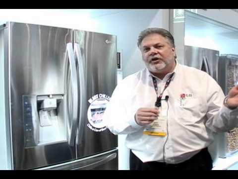 CES 2012 LG Refrigerator
