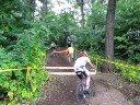 Eric rides the run-up at Uncle Sam