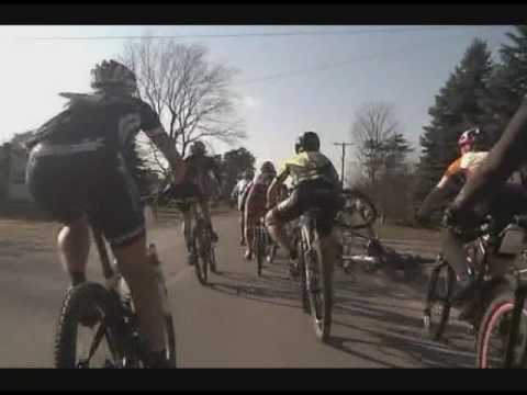 Danielle Musto/Helmet Cam from the 2009 Iceman, part 1