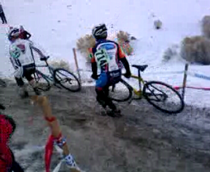 Master B 40+ crash hill carnage