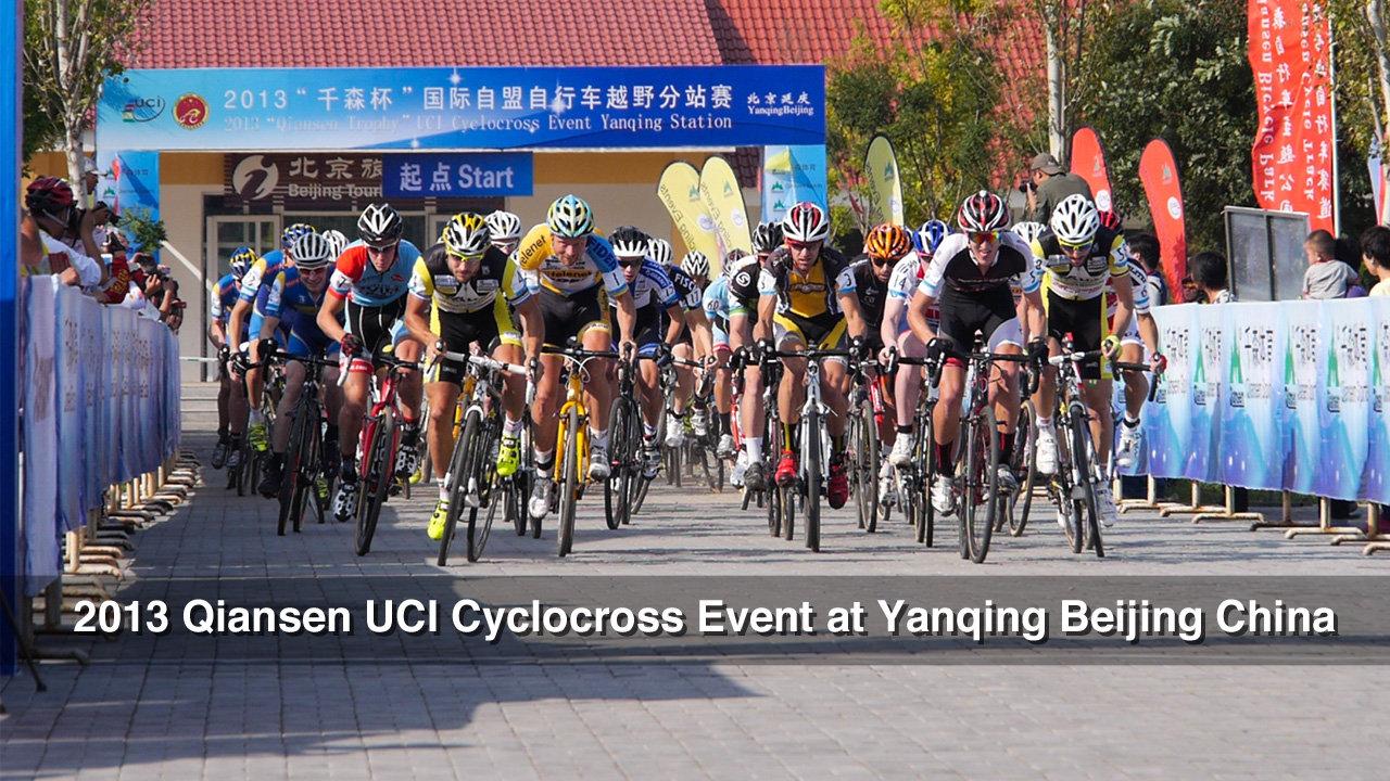 2013 Qiansen UCI Cyclocross Event at Yanqing Beijing China