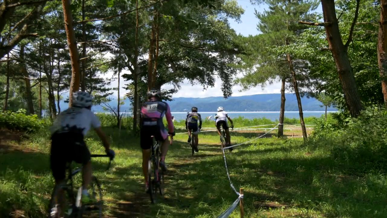 Lake Inawashiro Summer Cyclocross short ver.