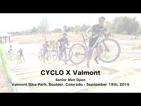 2015 CYCLO X Valmont Cyclocross Elite Men